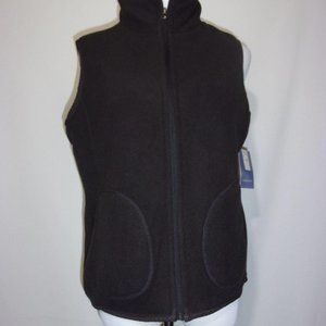 Laura Scott Dark Gray Reversibile Vest L